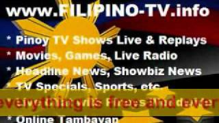 PINOY SHOWS ONLINE FULL TV EPISODES AND FREE MOVIES