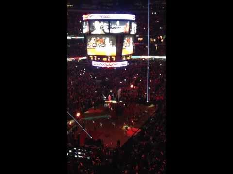 Chicago Bulls Intro Opening Night 2013 - Derrick Rose Return