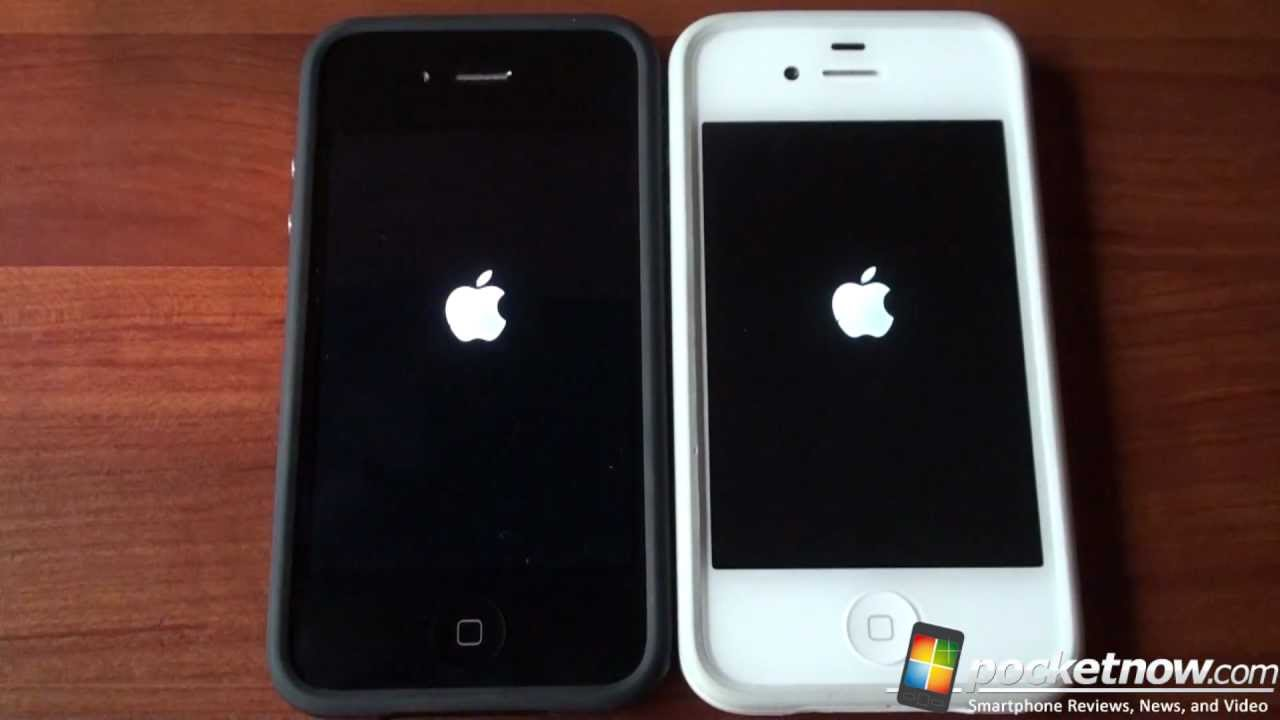 how to start iphone 4s