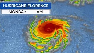 Southeastern U.S. braces for Hurricane Florence as storm strengthens