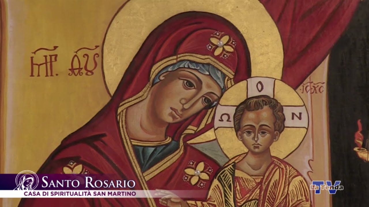 Santo Rosario - 9 maggio - Casa di Spiritualità e cultura San Martino di Tours