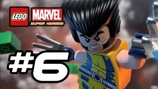 LEGO Marvel Super Heroes Gameplay Walkthrough Part 6