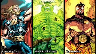 The Power of World Breaker Hulk , Rune King Thor & God Hercules (Part 1 of 4) WORLD BREAKER HULK