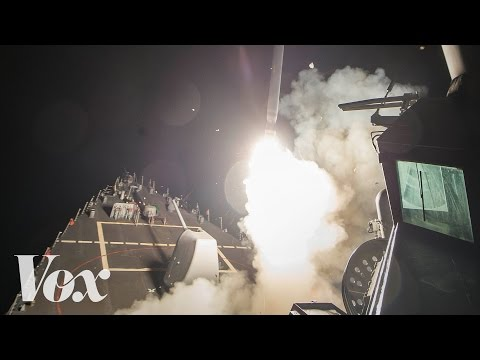 Trump's strikes against Syria, in one minute