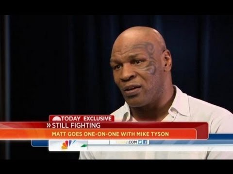Mike Tyson Interview - Alcoholic, Suicidal