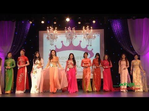 Phần 3: Thi Áo Dài: Miss. & Mrs. Vietnam USA 2015