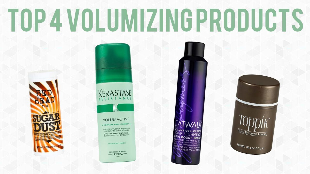 Volumizing Hair Products for Fine or Thin Hair  YouTube