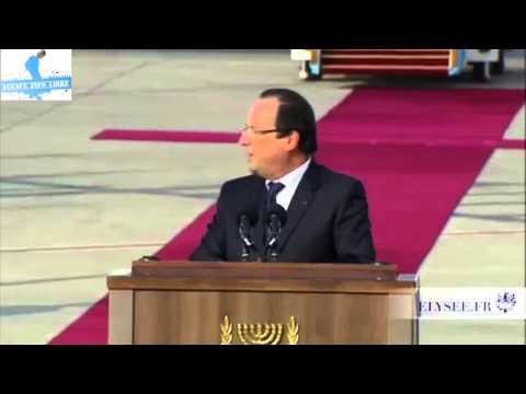 Un autre regard sur la visite de François Hollande en Israël