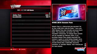 WWE 2K14 Full Day 1 DLC (Downloadable Content)