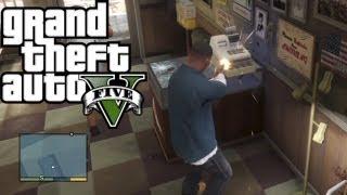 ★ GTA 5 How To Rob Any Store! Easy Money!