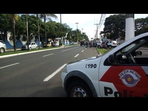 Combate a criminalidade: polícia faz operação