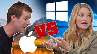 Mac vs PC - ROLE REVERSAL feat. iJustine