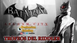 Batman Arkham City: Trofeos Del Riddler Gatúbela