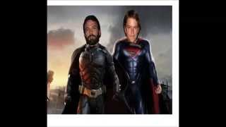 Superman/Batman Movie First Picture! Ben Affleck  as Batman 2015