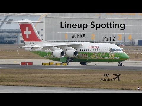 [FullHD] Lineup Spotting at FRA (Part 2)