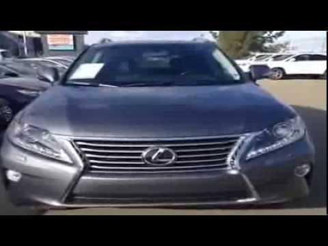 Brand New Gray 2014 Lexus RX 350 Technology Package Review