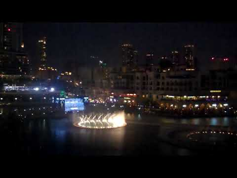 Dubai Festival of Lights, inauguration at Downtown Dubai