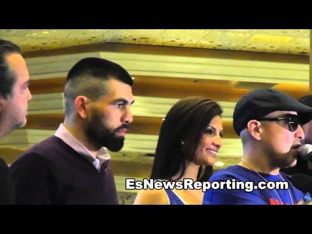 Alfredo Angulo talks Canelo Alvarez MGM Grand esnews boxing