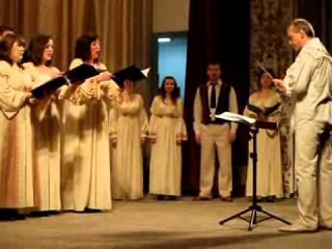 Капела Орея на сцені чернівецької філармонії