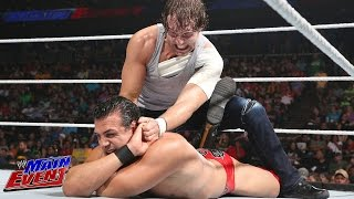 Dean Ambrose vs. Alberto Del Rio: WWE Main Event, July 29, 2014