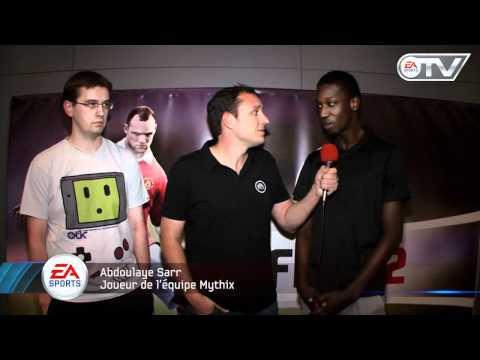 FIFA 12 Презентация игры в Париже