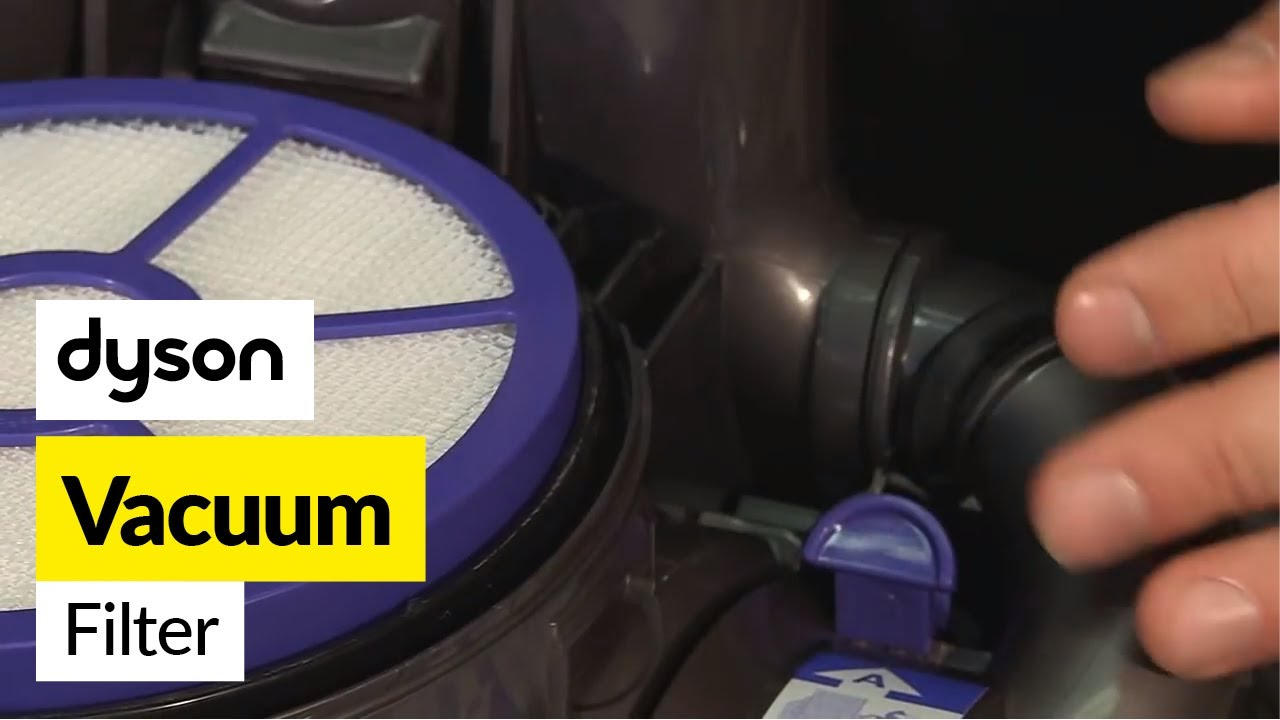 How To Replace The Dyson Filters On A Dyson Dc05 Vacuum