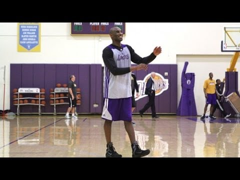 Kobe Bryant Nears Return | LA Lakers | December 5, 2013 | NBA 2013-14 Season