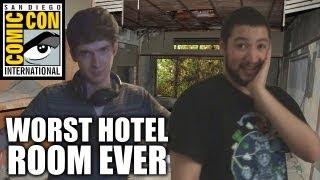 Worst Hotel Room EVER (SDCC 2013)