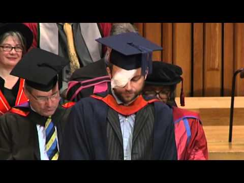 Damon Albarn receives an honorary degree from University of East London