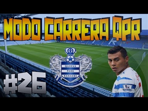 Modo Carrera QPR #26 | Partido ajustado contra el Tottenham | PS4 | HD | FiferoUT