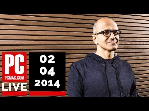 PCMag Live 02/04/14: Facebook Turns 10 & Satya Nadella Named Microsoft CEO