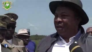 Discours du Ministre Adjoumani - Relance du projet Soja dans le district du Woroba