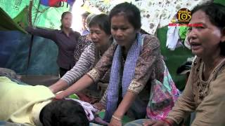 Donation from Austrlia Help Poor Peoples in Borey Keila