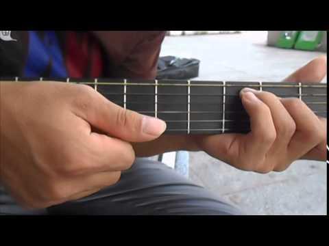 [CLB học guitar miễn phí] HD guitar: Bài 4_Tuổi hồng thơ ngây (intro, quạt nâng cao).