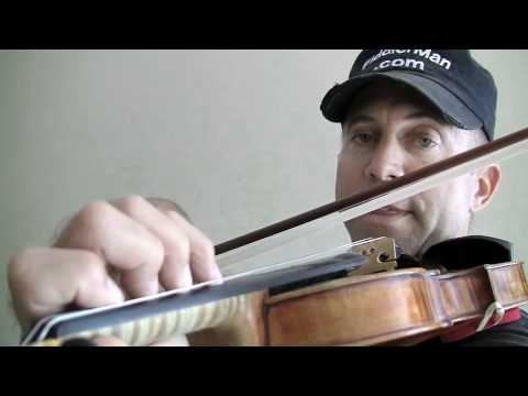 "Simple version of Rossini's ""Barber of Seville"" for violin part 1"