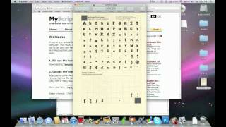 How To Make Your Own Font Mac & PC