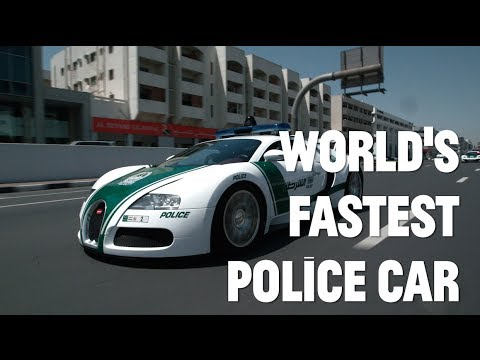 Dubai's super fleet: World's fastest police car
