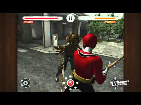 Power Rangers Samurai Steel - iPhone Game Preview