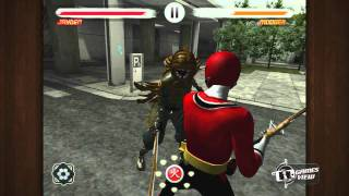 Power Rangers Samurai Steel IPhone Game Preview