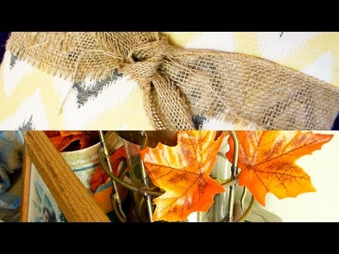 Decorating on a Budget: My Fall House