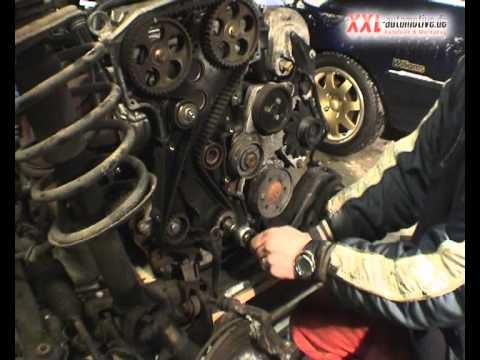 Zahnriemenwechsel Renault Motor F7p Youtube