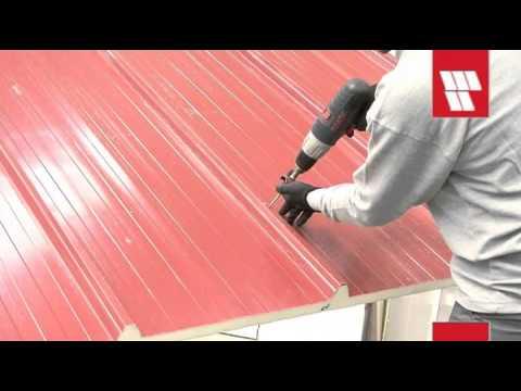 ITALPANNELLI. VIDEO INSTALACION PANEL DE CUBIERTA TER