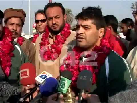 MUHAMMAD ALI PEHLAWAN WRESTLING INTERVIEW ON WAGHA BORDER