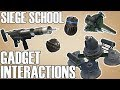 Gadget Interactions and Inconsistencies Siege School Rainbow Six Siege