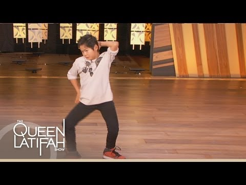 11 Year Old Hip-Hop Prodigy on The Queen Latifah Show