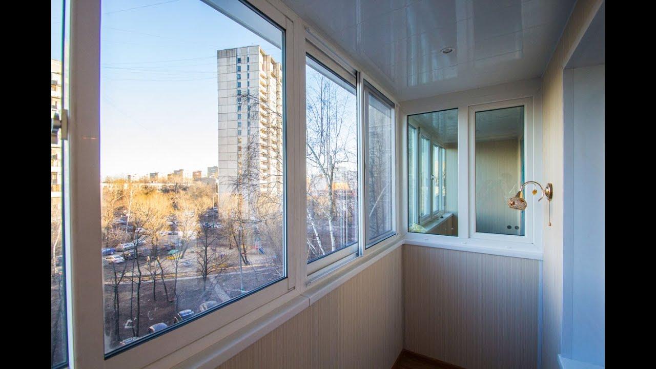 Остекление балконов и лоджий алюминием по цене от производит.