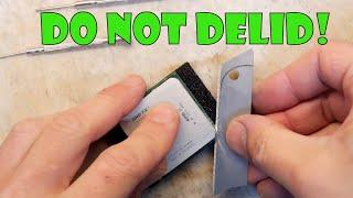 TDL- Do not DE-LID an AMD FX9590 CPU! (Already dead CPU)