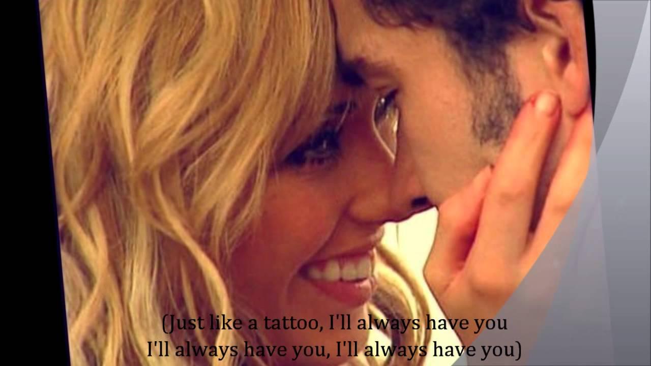 Jordin sparks tattoo with lyrics youtube for Jordan sparks tattoo lyrics