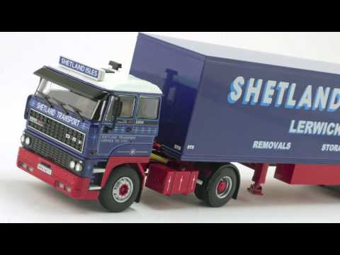 Model Truck World: Shetland Transport DAF 2800