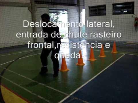 4) TREINAMENTO GOLEIROS FUTSAL GOALKEEPER TRAINING( PROF. TIAGO PONTES)